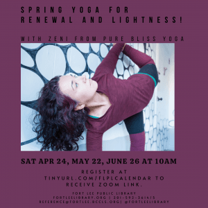 FLPL Spring Yoga with Zeni May and June 2021